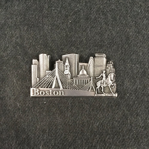 BOSTON SKYLINE METAL MAGNET