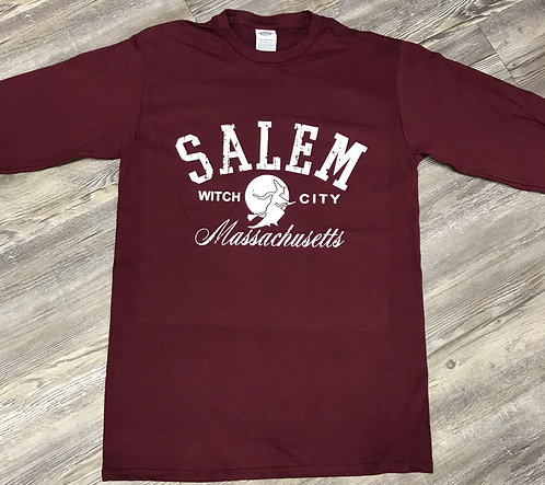 LONG SLEEVE NEW SALEM WITCH TSHIRT