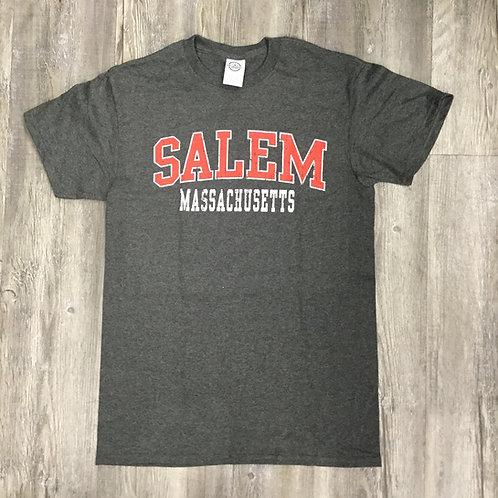 RED SALEM MASSACHUSETTS T-SHIRT