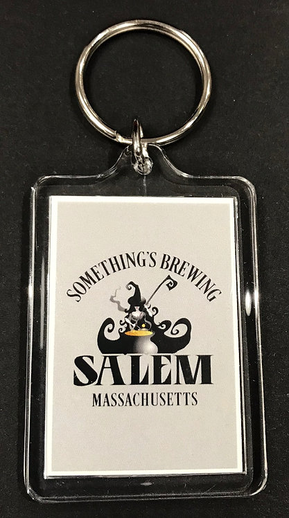 SOMETHING'S BREWING KEYCHAIN