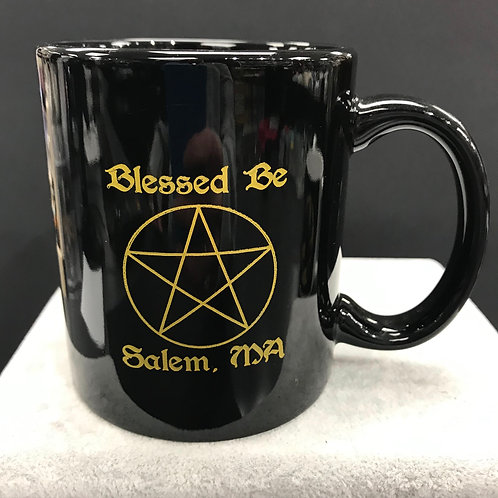 BLESSED BE SALEM, MA MUG