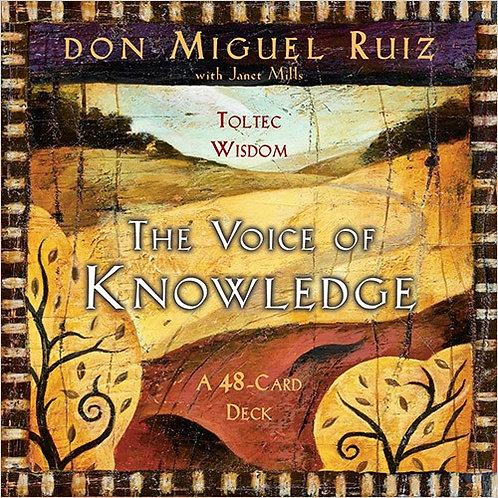 THE VOICE OF KNOWLEDGE CARD DECK