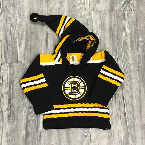 BRUINS PERUVIAN BABY SWEATER