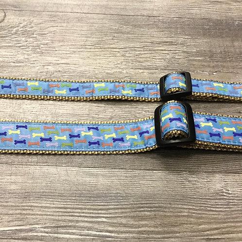 BLUE BONES PET COLLAR