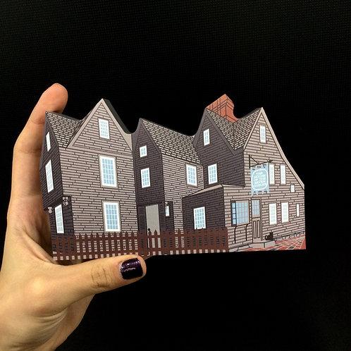 HOUSE OF SEVEN GABLES - CAT'S MEOW VILLAGE