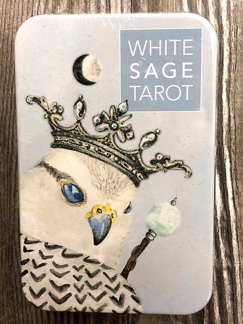 WHITE SAGE TAROT IN TIN