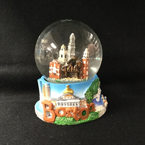 LARGE BOSTON SKYLINE SNOWGLOBE