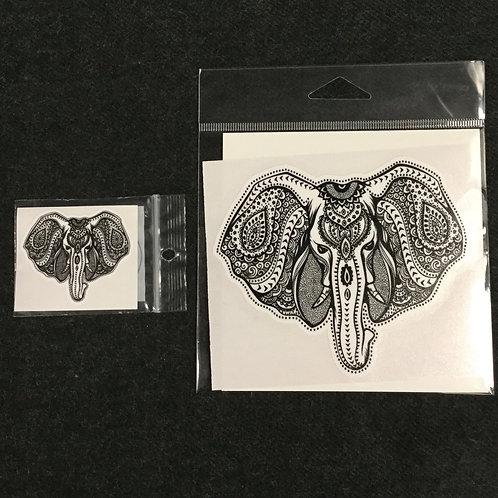ELEPHANT HEAD VINYL STICKER