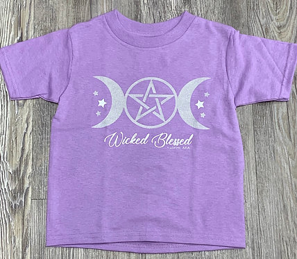 TODDLER WICKED BLESSED T SHIRT