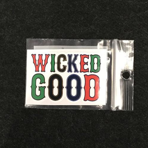 WICKED GOOD VINYL STICKER