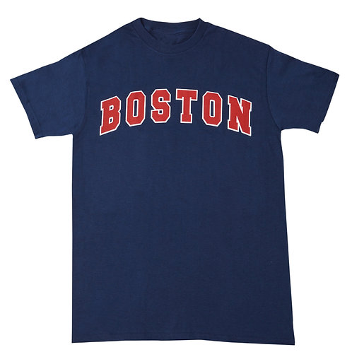 KIDS BOSTON BLOCK T-SHIRT
