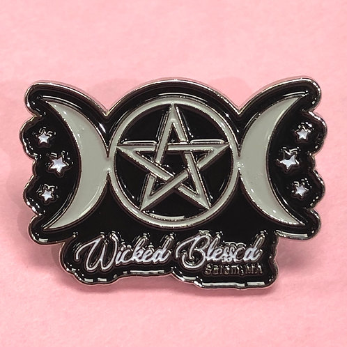 WICKED BLESSED ENAMEL PIN