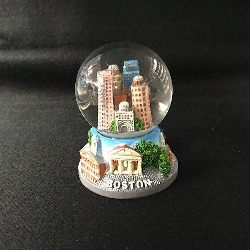 MINI BOSTON SKYLINE SNOWGLOBE