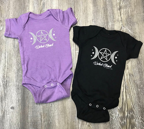 BABY WICKED BLESSED ONESIE