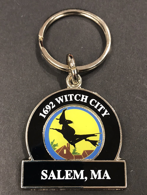 1692 WITCH CITY SALEM, MA KEYCHAIN