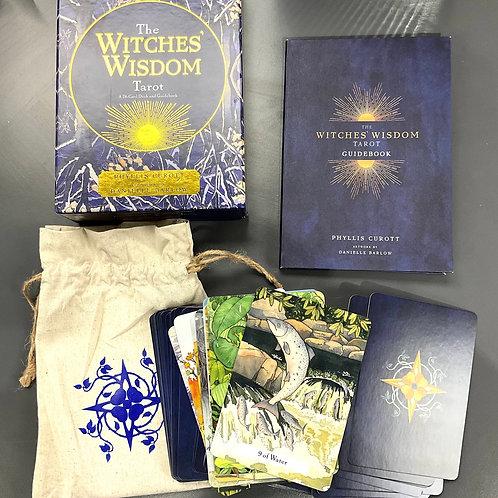 THE WITCHES' WISDOM TAROT SET