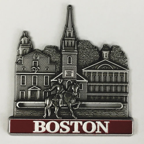 BOSTON PAUL REVERE SLIDER MAGNET