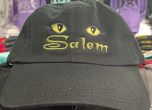 SALEM CAT EYES BASEBALL HAT