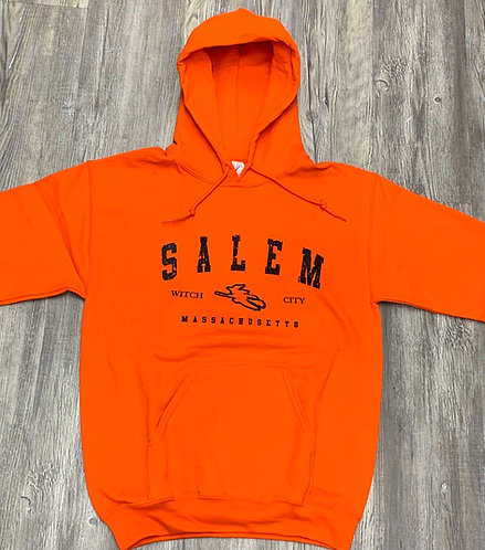 SALEM WITCH CITY HOOD SWEATSHIRT