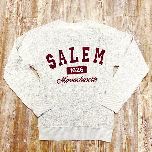 SALEM BURGUNDY NANTUCKET CREW