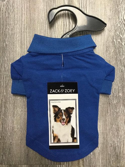 BLUE PET POLO