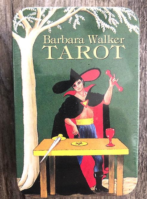 BARBARA WALKER TAROT IN TIN