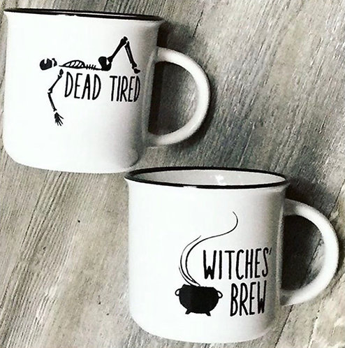 WITCHES' BREW/DEAD TIRED MUG