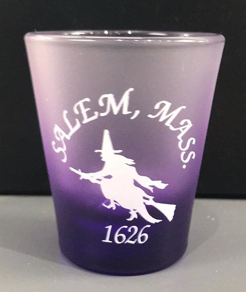 SALEM MA 1626 SHOT GLASS