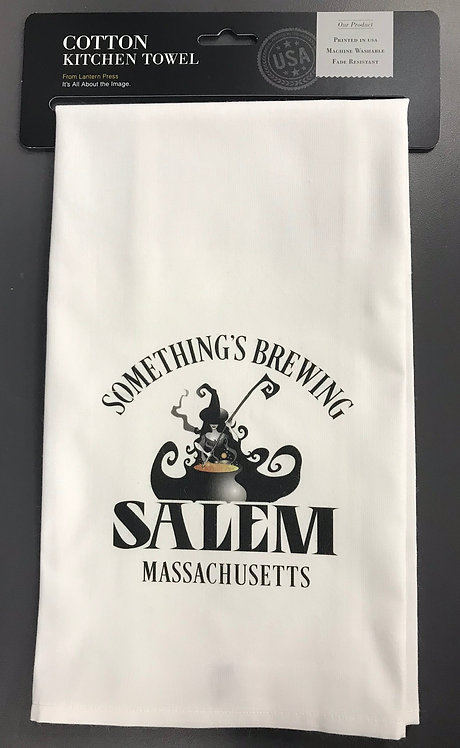 SOMETHING'S BREWING KITCHEN TOWEL