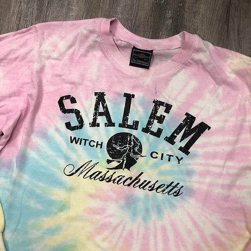 SALEM LONG SLEEVE TIE DYE WITCH