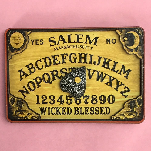 WICKED BLESSED 3D OUIJA MAGNET