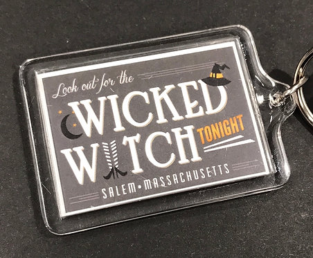 Wicked Witch Keychain