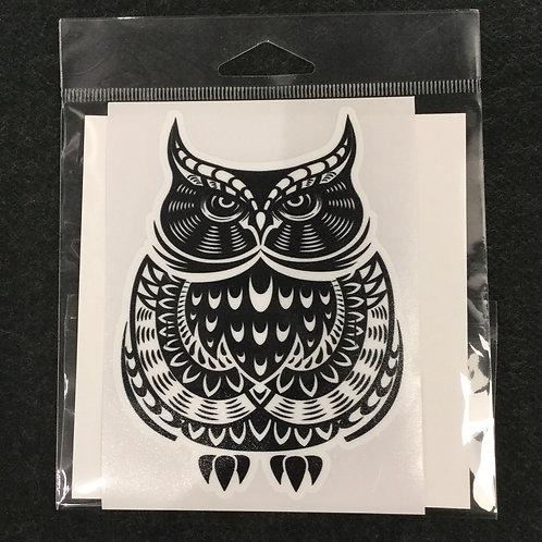 OWL VINYL STICKER