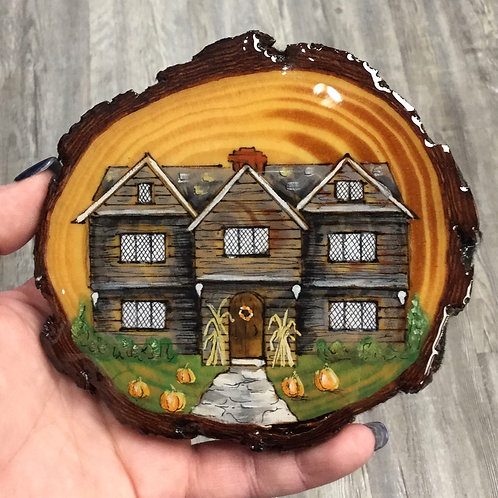 HISTORIC HOUSE WOOD PAINTING