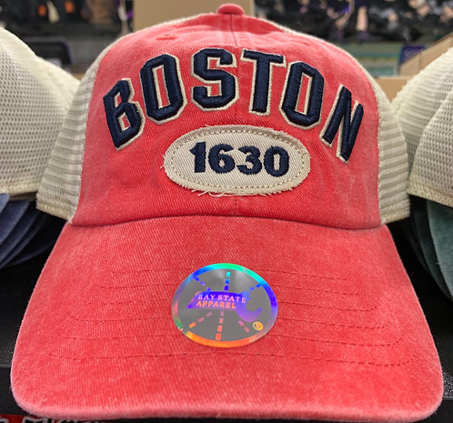 BOSTON 1630 MESH BASEBALL HAT