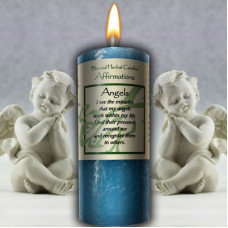 BLESSED HERBAL AFFIRMATION CANDLES