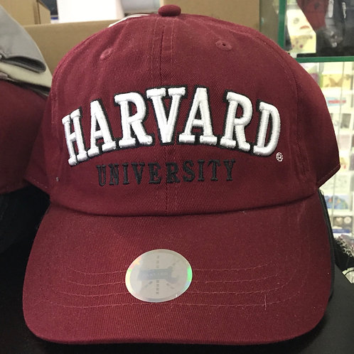 HARVARD UNIVERSITY BASEBALL HAT
