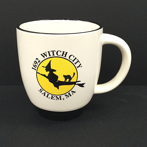 1692 WITCH CITY SALEM MA BISTRO MUG