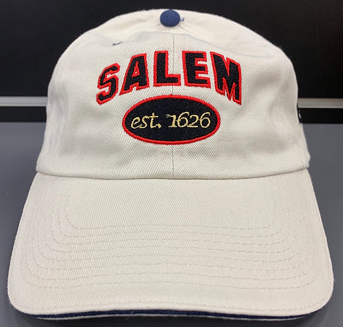 SALEM EST 1626 BASEBALL HAT