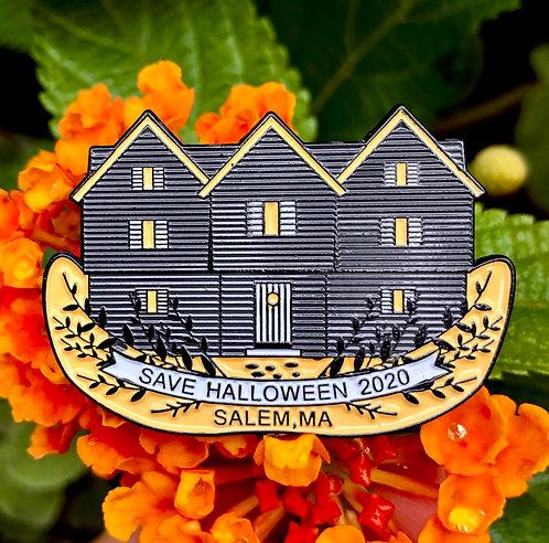 SAVE HALLOWEEN 2020 SALEM PIN