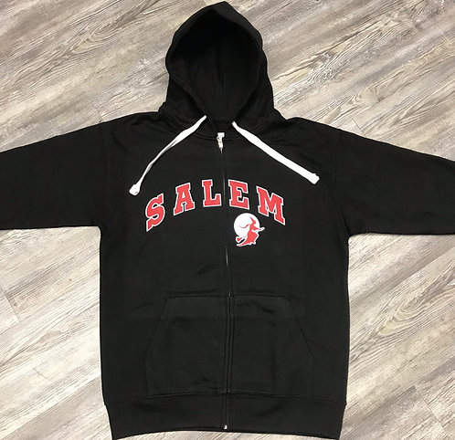 SALEM FULL ZIP WITCH SWEATSHIRT