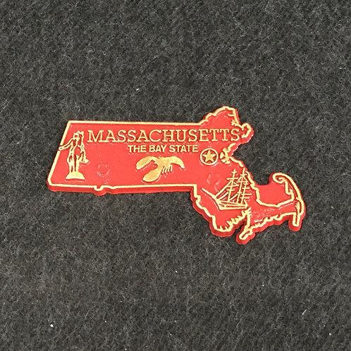 RED MASS MAP MAGNET