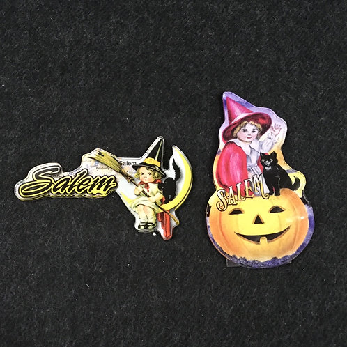 LITTLE WITCH ACRYLIC MAGNET