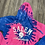 Thumbnail: TIE DYE WITCH PULLOVER ENZYME HOOD