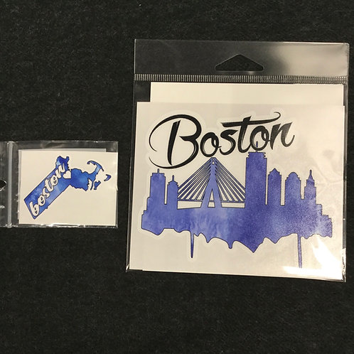 BOSTON VINYL STICKER