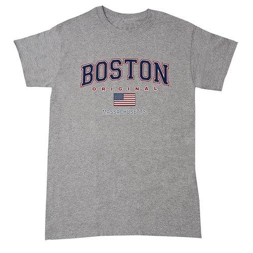 BOSTON FLAG T SHIRT