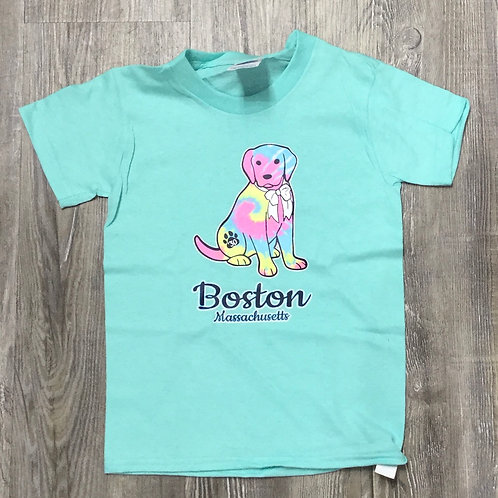 KIDS BOSTON DOG T SHIRT