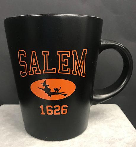 SALEM 1626 FLYING WITCH MUG