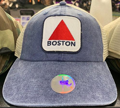 BOSTON TRIANGLE MESH BASEBALL HAT