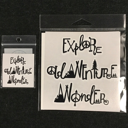 EXPLORE ADVENTURE VINYL STICKER